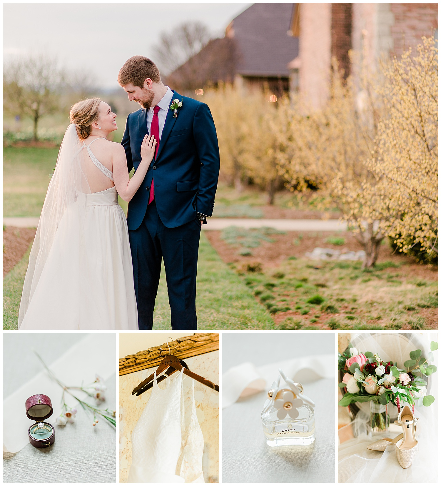 Early Mountain Vineyards Wedding - Charlottesville VA Wedding Photographer