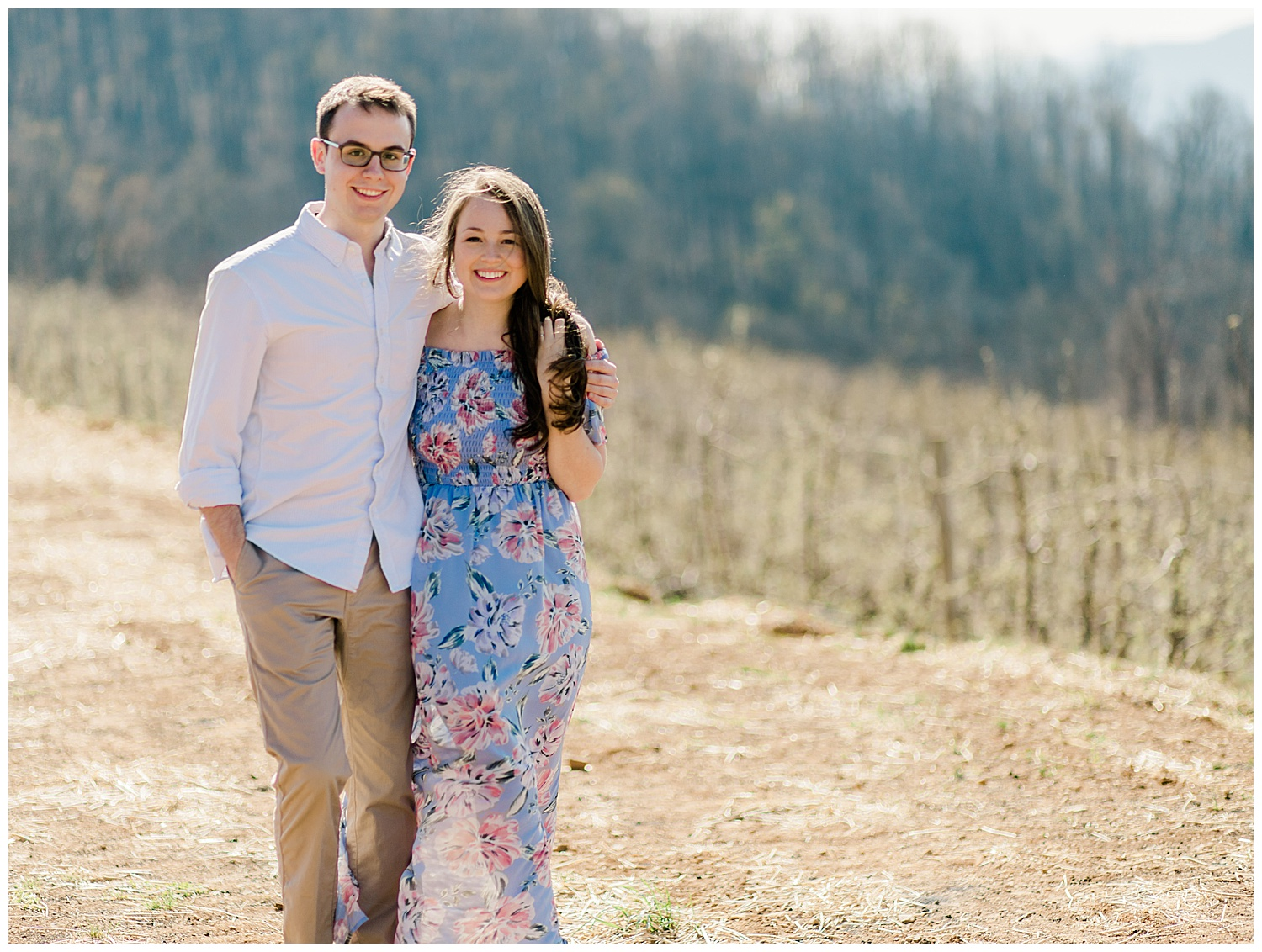 Carter Mountain Engagement Photography in Charlottesville, VA