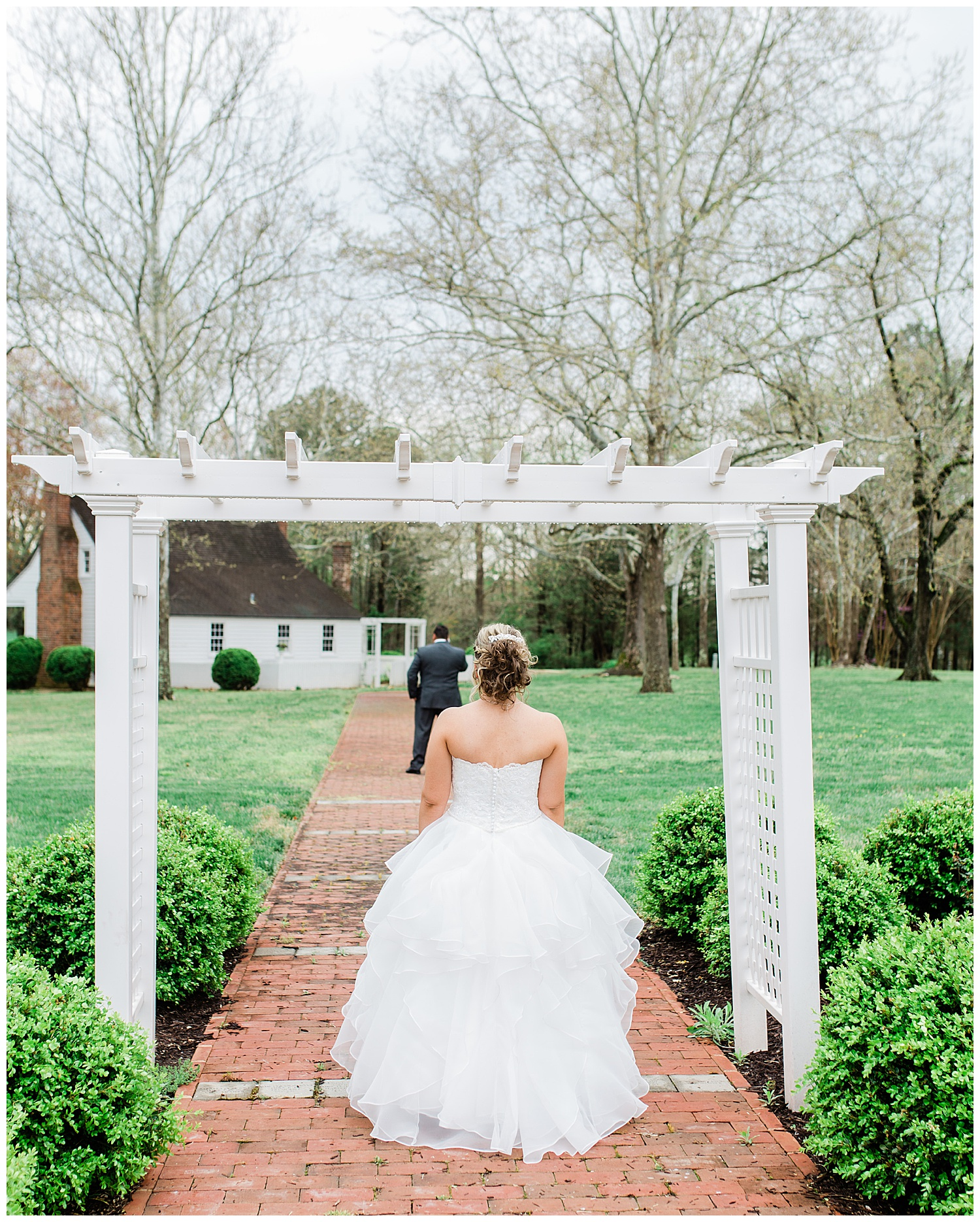Wedding First Look - Virginia Wedding Photographer