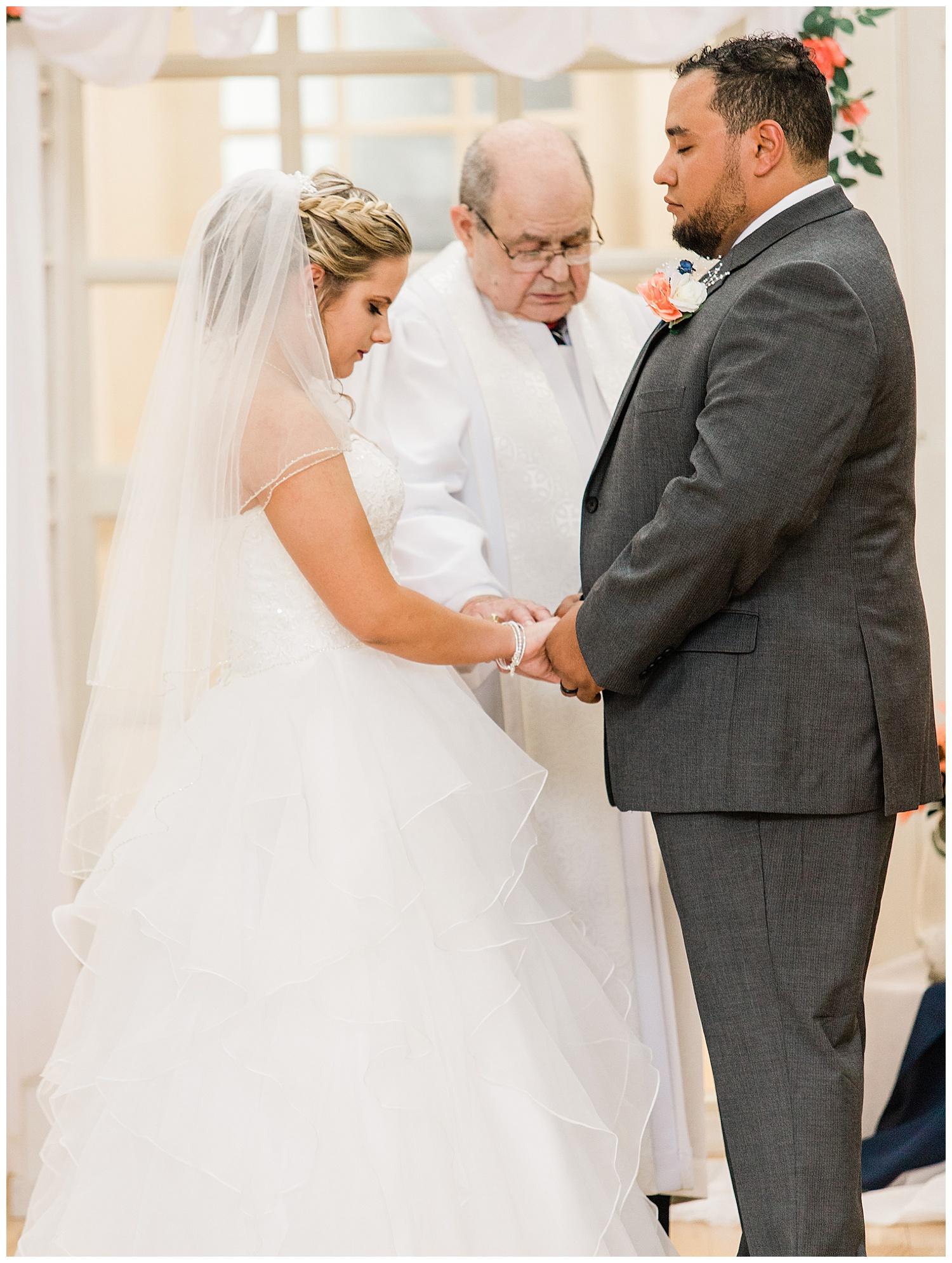 Wedding Ceremony - Bride + Groom - Virginia Wedding Photographer