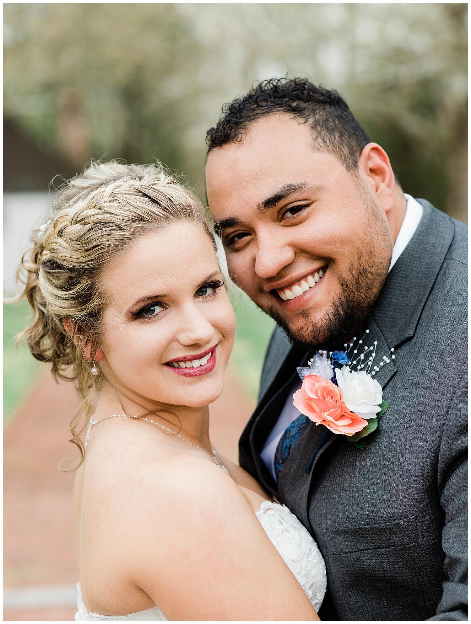 Bride and Groom Portrait - Virginia Wedding Photographer