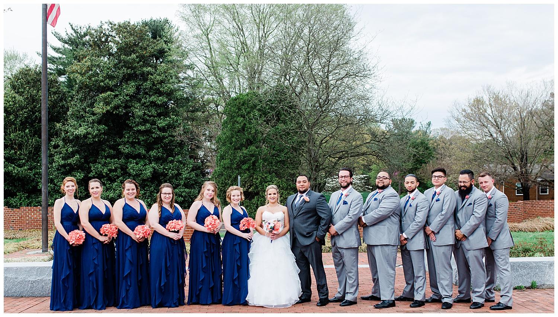 Wedding Party - Montpelier Center for the Arts Wedding - Virginia Wedding Photographer