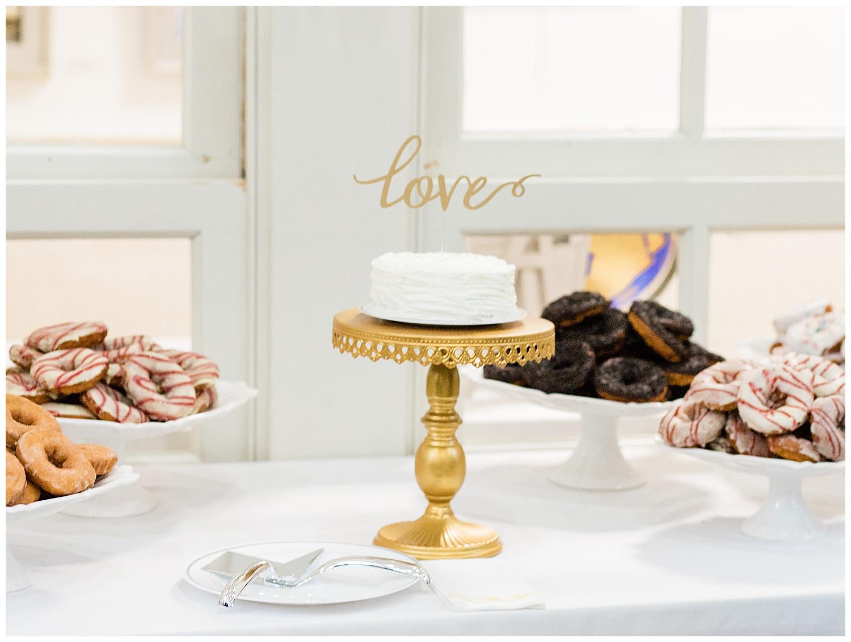 Wedding Cake - Virginia Wedding Photographers
