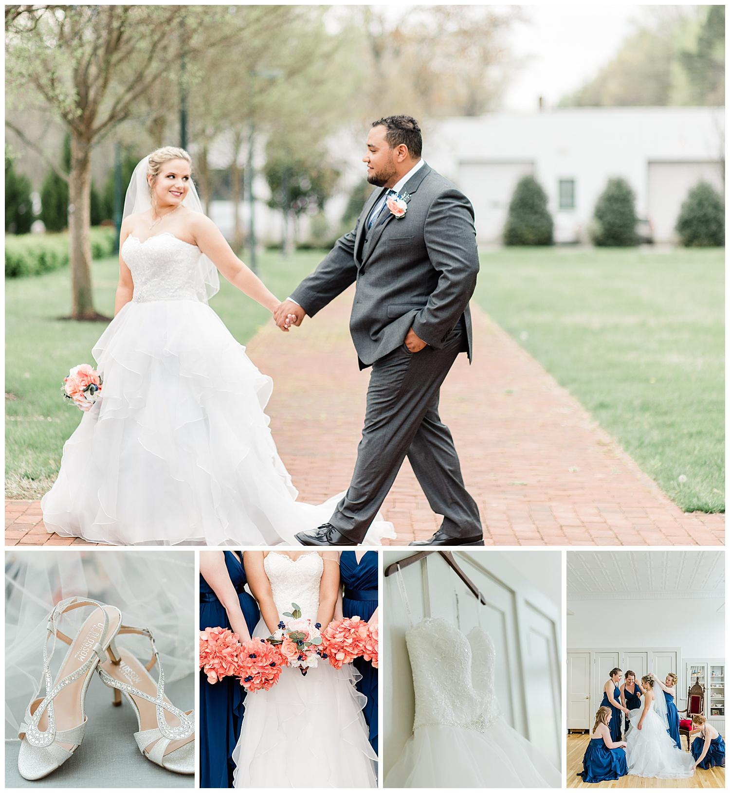 Montpelier Center for the Arts Wedding - Virginia Wedding Photographers
