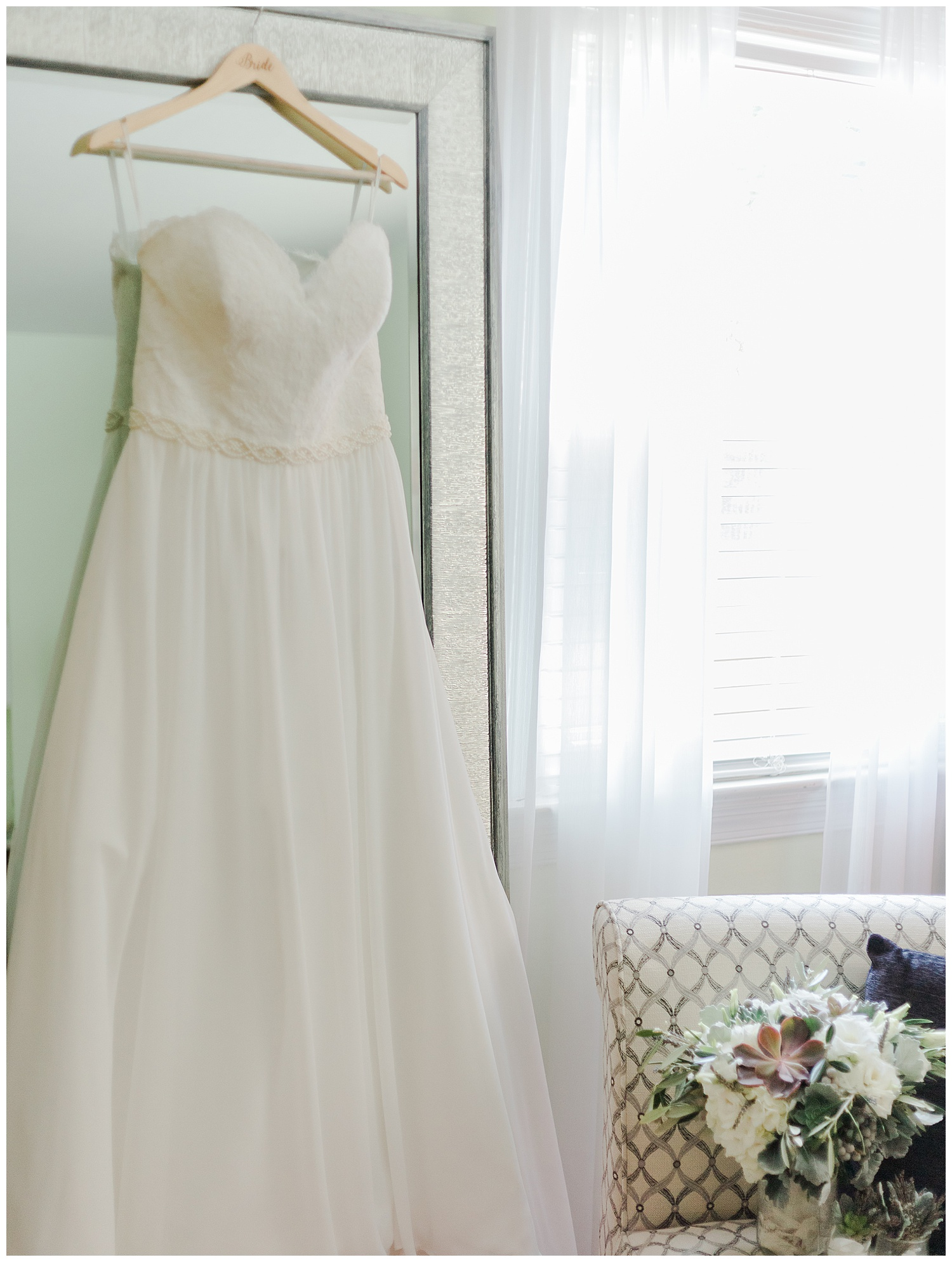 Wedding Gown at Celebrations at the Reservoir