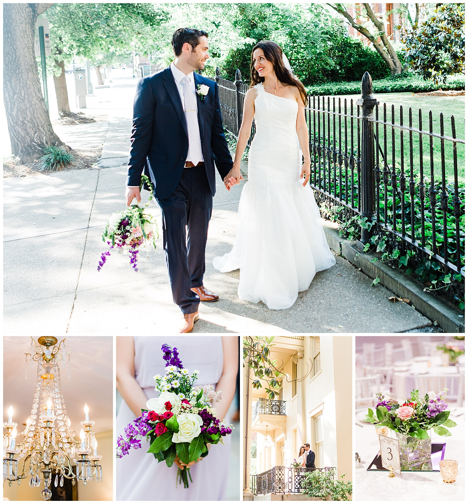 St. Stephen's Episcopal Church and The Brownstone Wedding | Richmond, Virginia Wedding Photographer