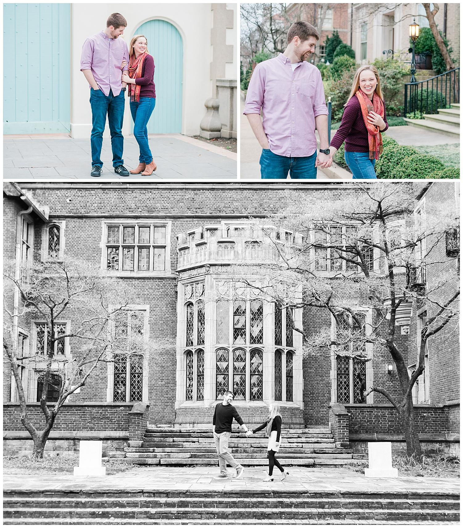 Branch Museum | Monument Avenue Engagement Photos