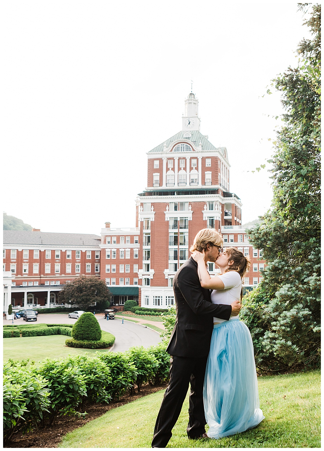 Omni Homestead Wedding Photography | Couple's Portrait Session