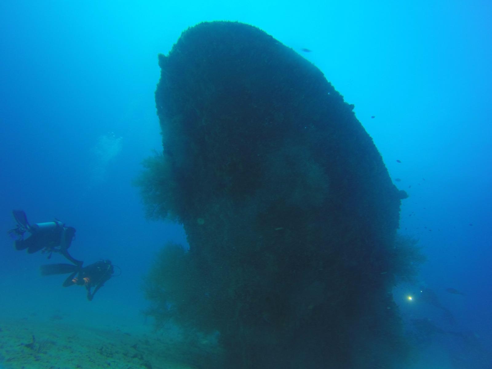 Brunei Wreck Diving -