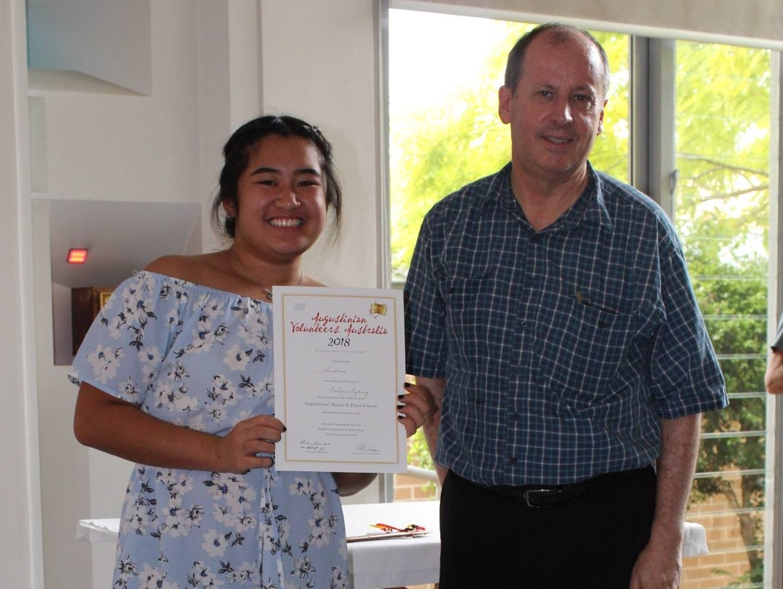 - Sunshine has been volunteering at Mamre Homestead teaching computer skills to Refugee women.