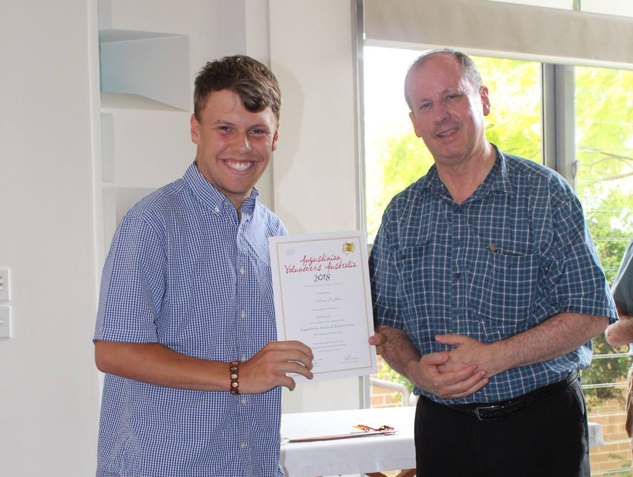 - Oliver has been volunteering with CTK Homework and Breakfast Club and Welcome to Australia in SA.