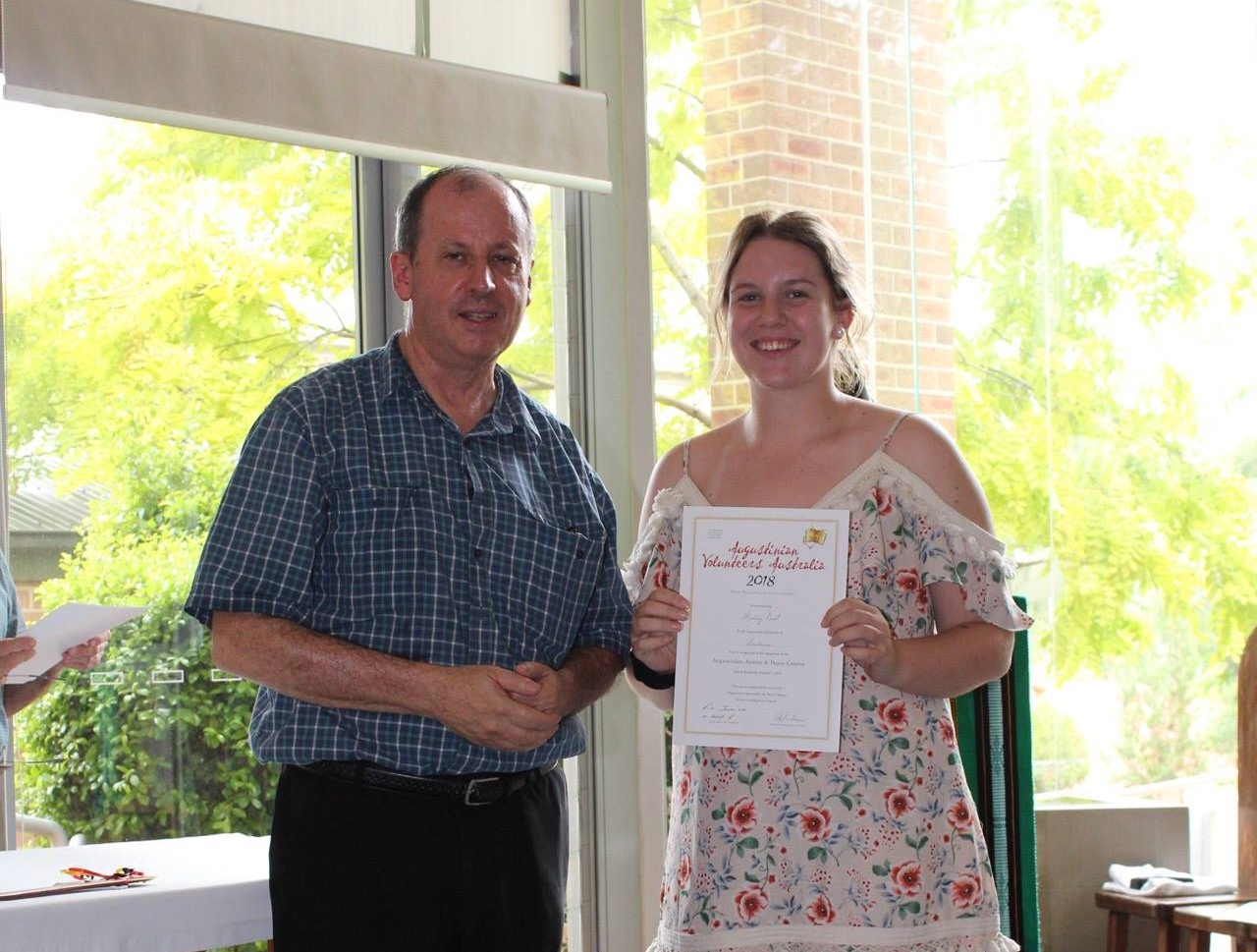 - Maddy will volunteer in Kulibora (belonging to the community) in QLD.