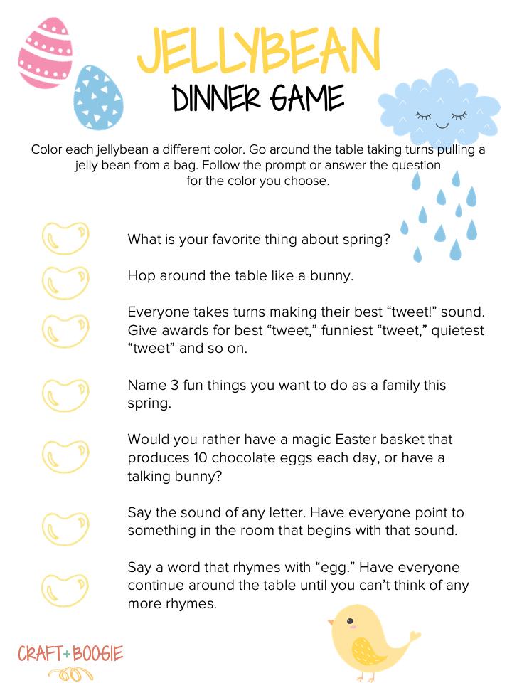 Jellybean Dinner Game.png