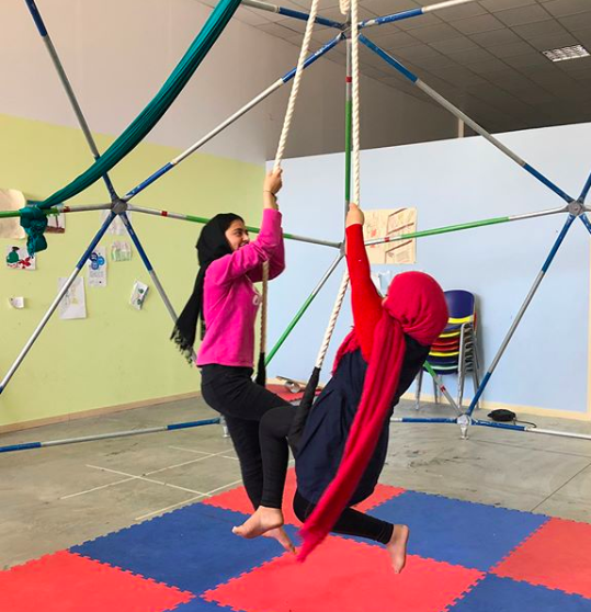 - CircusAid reduces the detrimental health outcomes from the refugee experience by creating opportunities for problem solving, teamwork, challenge, and most of all, joy and laughter during the resettlement process.