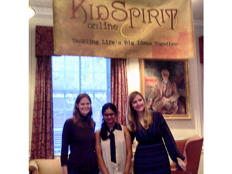 Collaborating with Kidspirit Online editors in New York (2012)