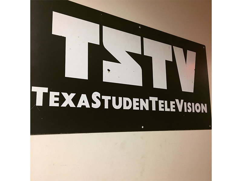Working at Texas Student Television (TSTV) — the only student-run, FCC-licensed, digitally broadcasting college television station in the country (2017)