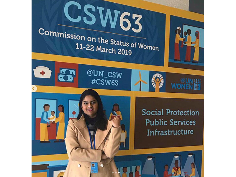 Visiting the United Nations Headquarters for UN CSW (2019)