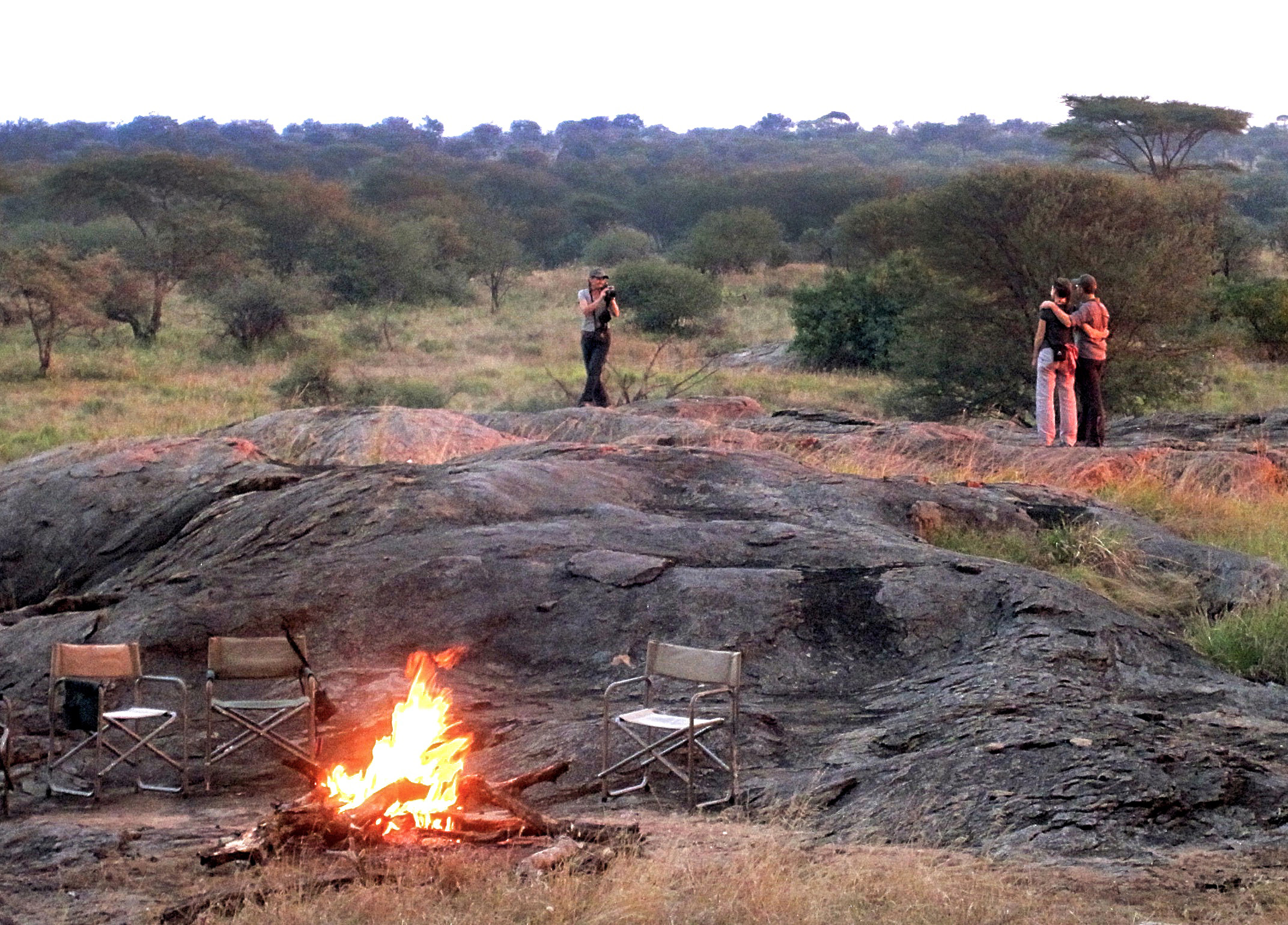 CLIMATE - Climate is mild and beautiful. At about 5500 feet, we enjoy cool evenings and mornings. When the sun comes out, it can average 80ºF, but by sundown, we are putting our fleeces on around the campfire. Perfect.
