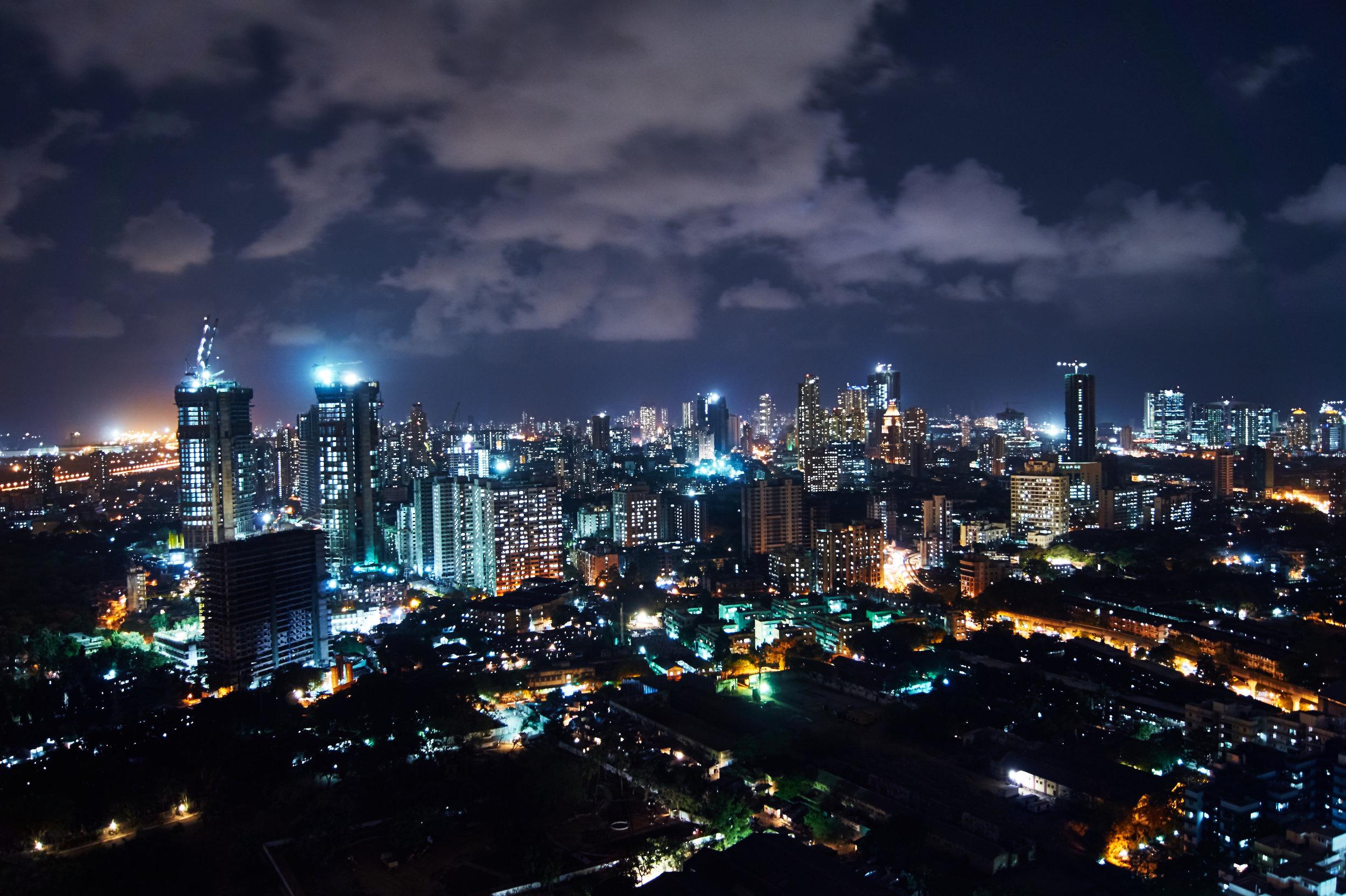 Mumbai city skyline (Skye Vidur)