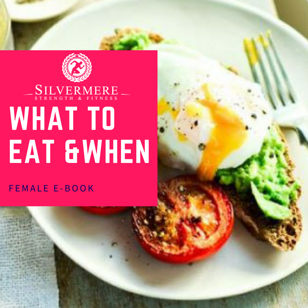 Female What To Eat & When E-BOOK