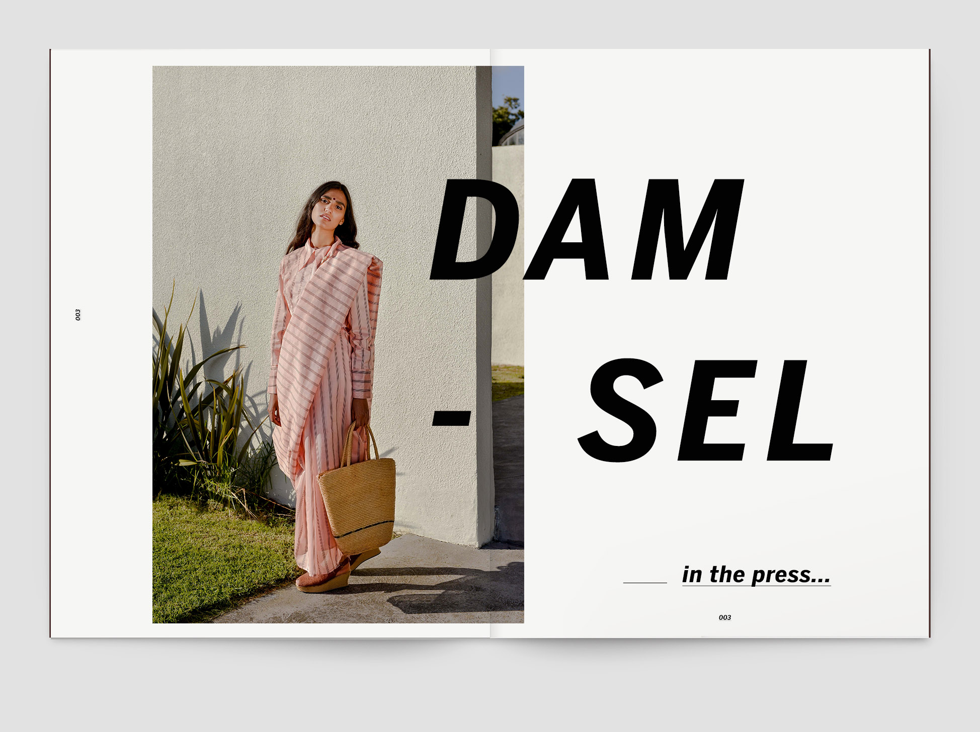 003 Damsel saree