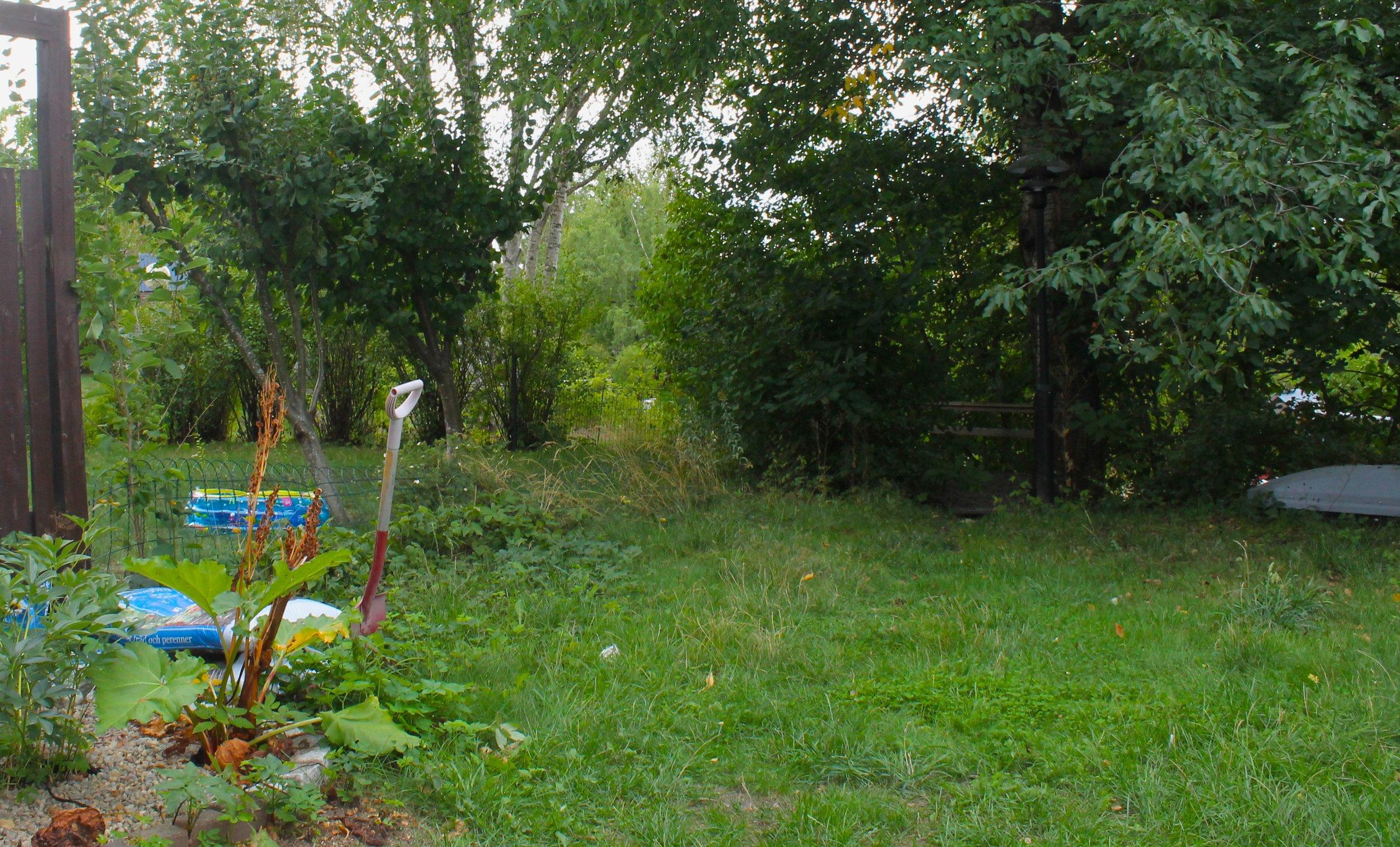 Charlie and Sanna's garden