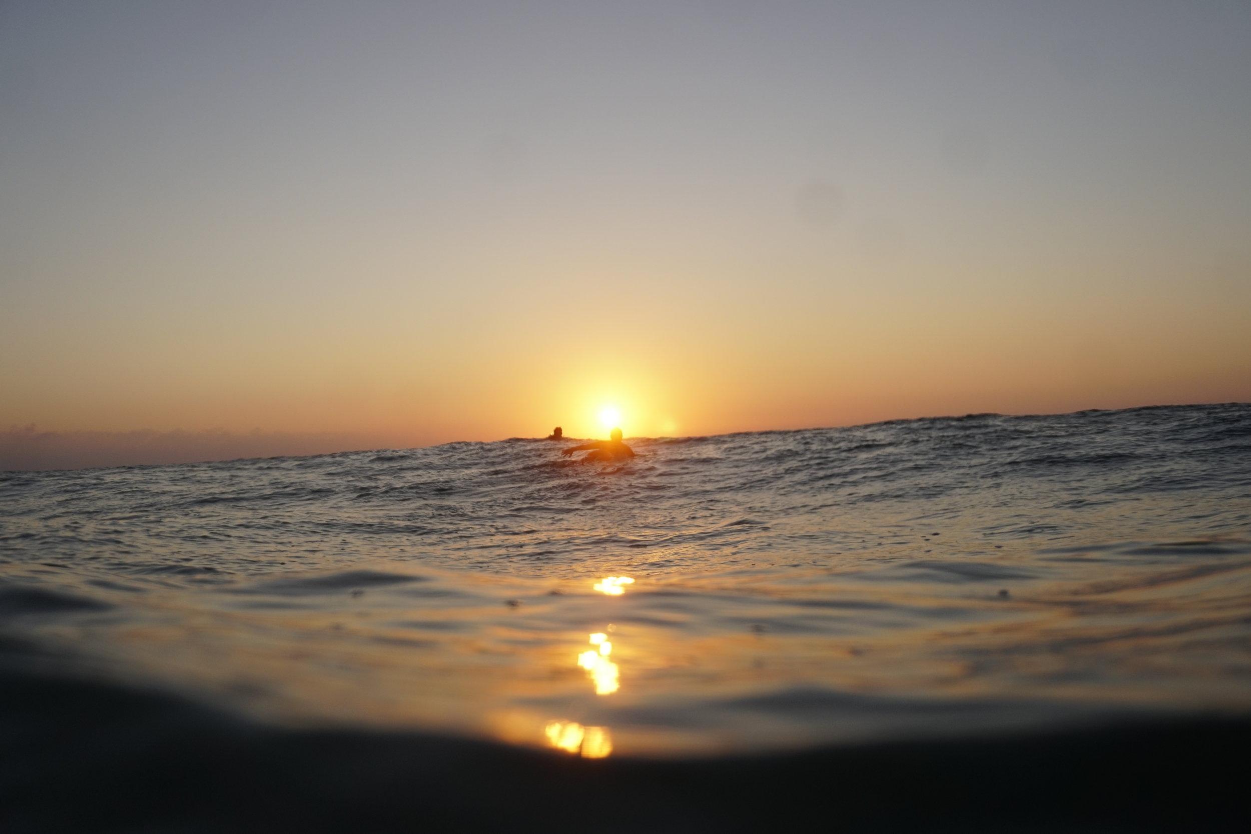 Sunset scenes in Seignosse (Photo credit Tom Temp)