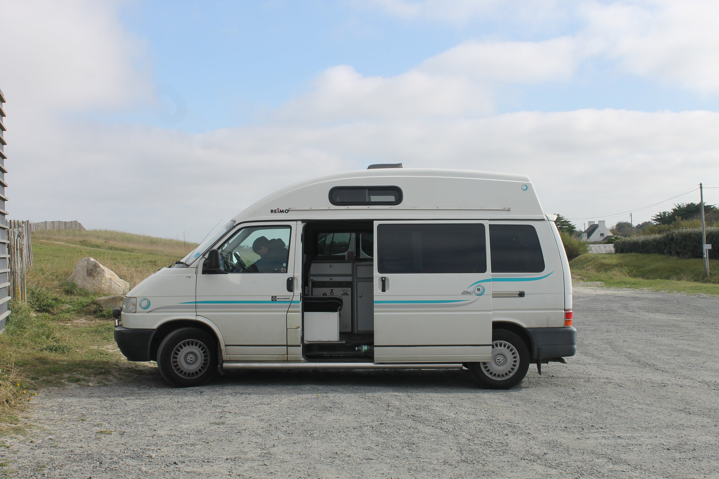 The van looking as beautiful as ever