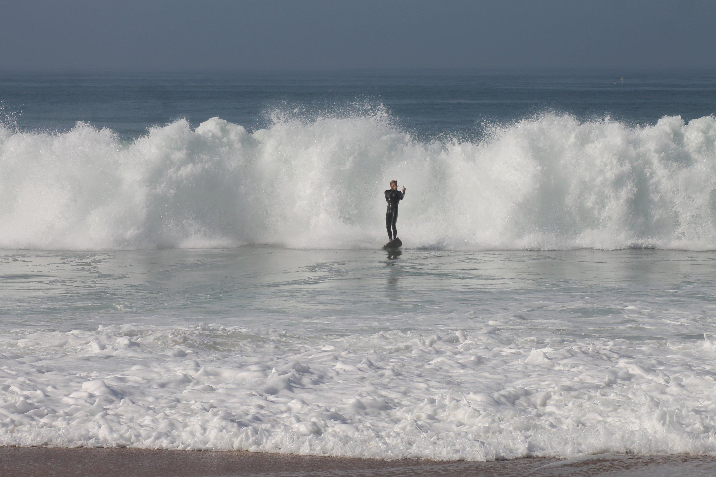 Pretty heavy (Surfer: Tom Temp)