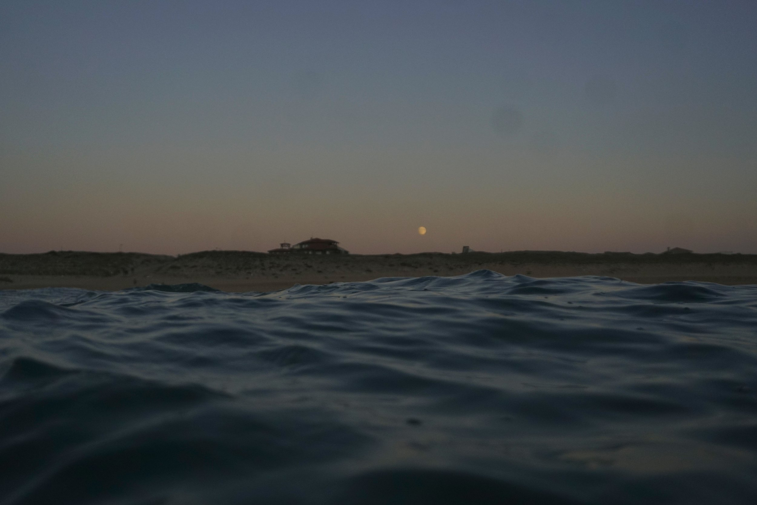 Dunes and the moon (Photo credit Tom Temp)