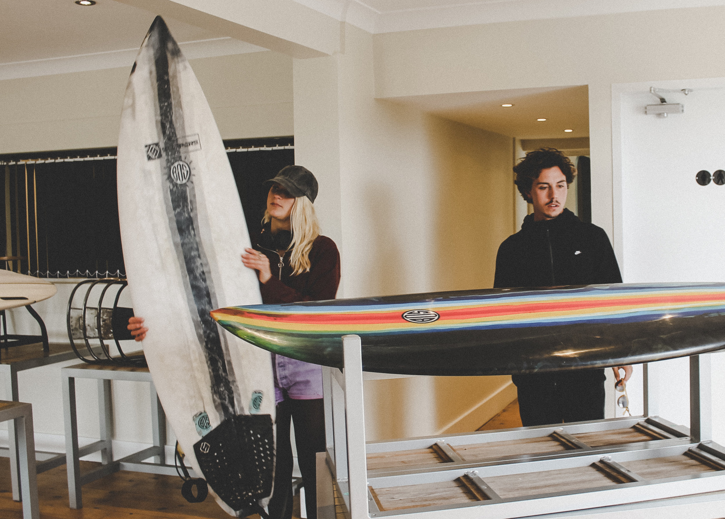 Step away from the norm with BOS Surfboards