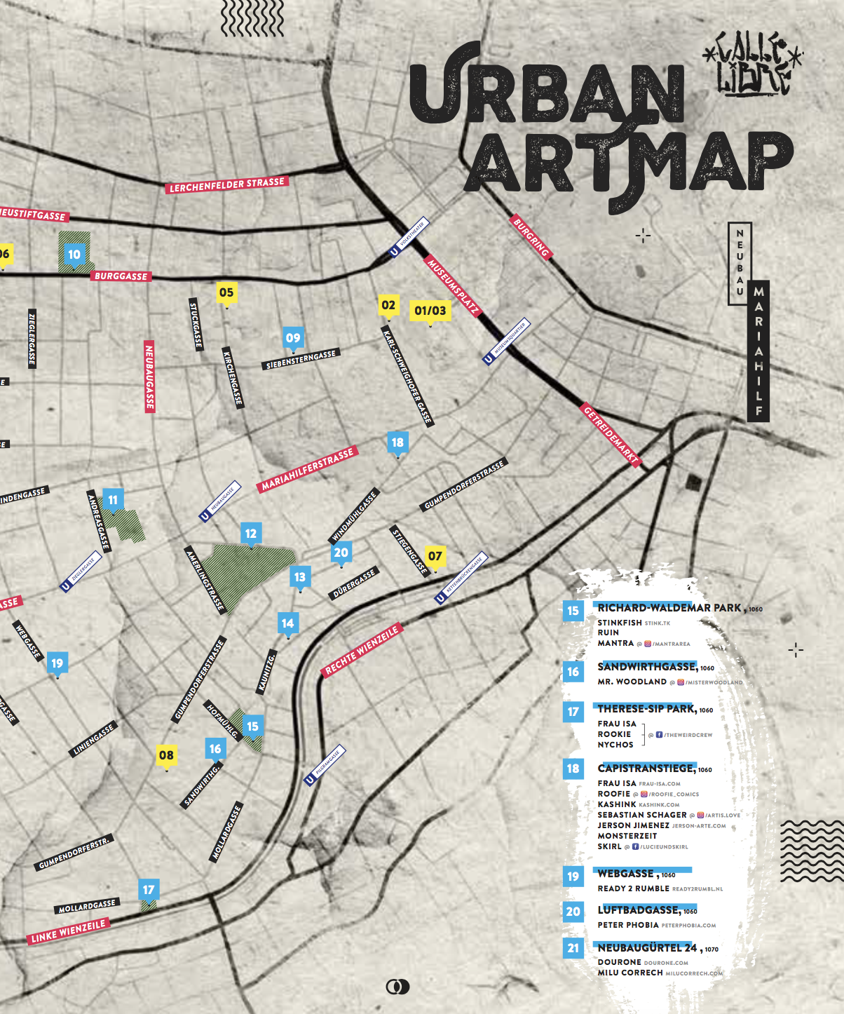 Download Below! - Fill out the form below and download our urban art guided tourOnly German for now, but the English version will follow soon!