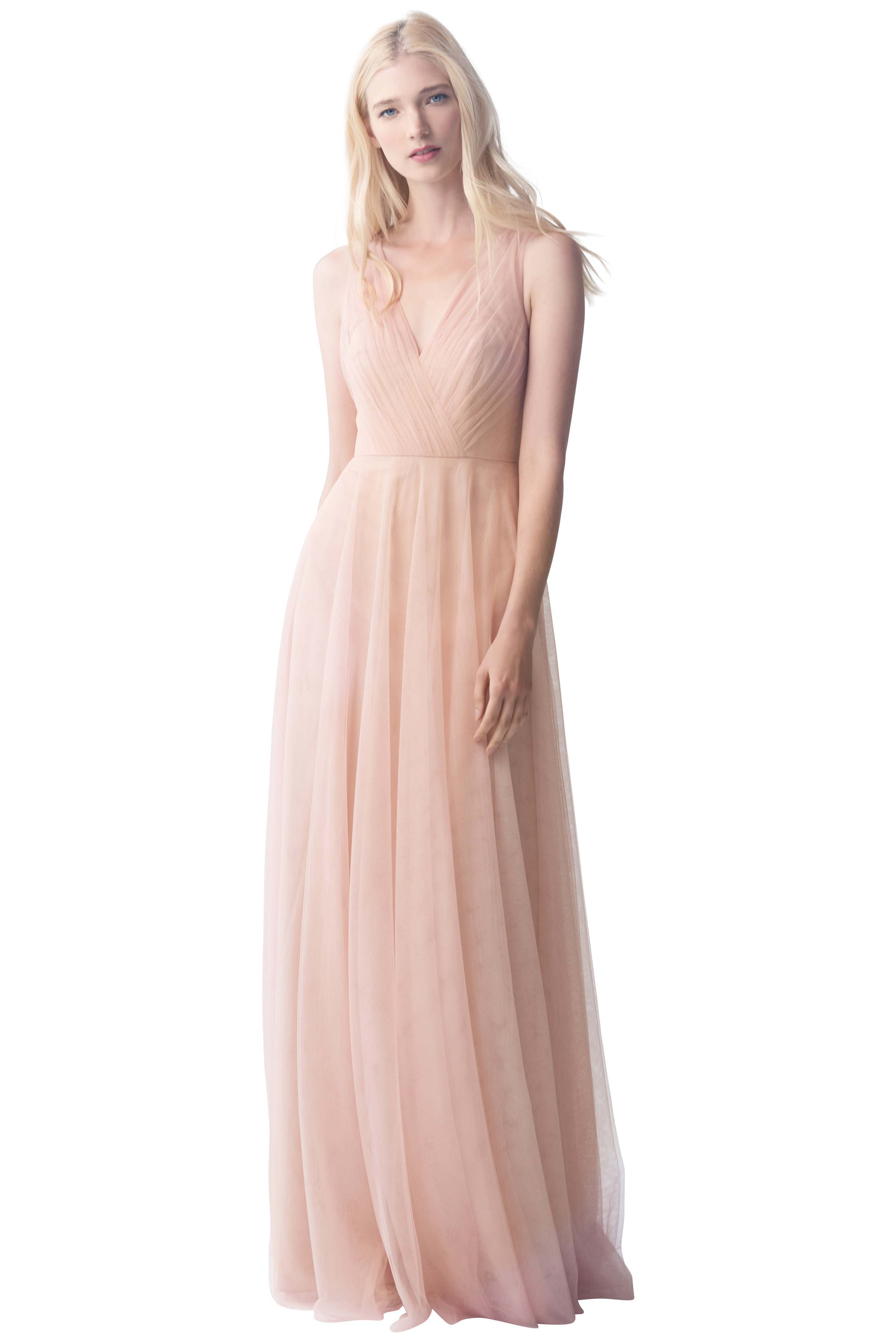 Jenny Yoo 'Emelie' Cameo Pink Tulle -