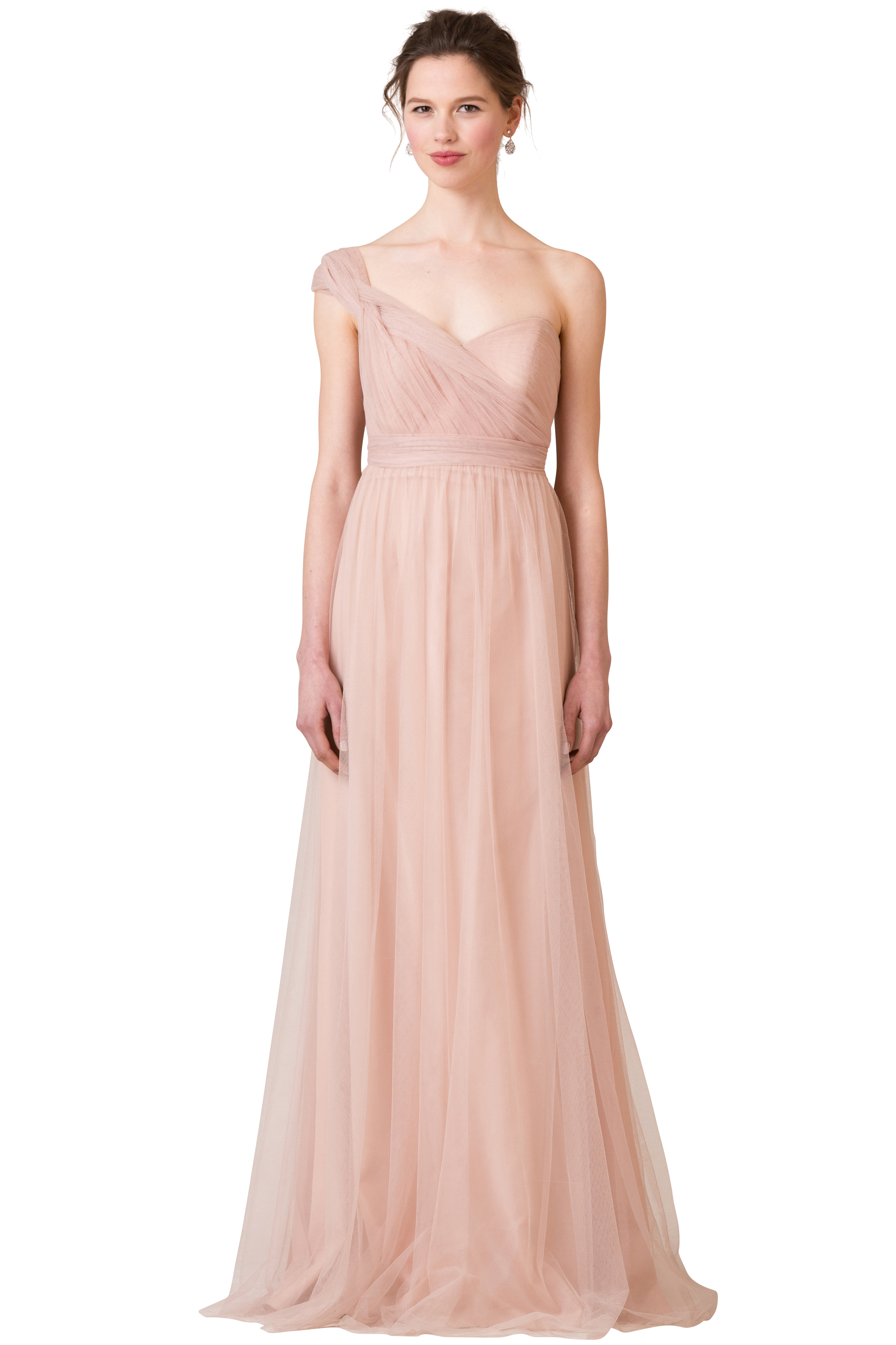 Jenny Yoo 'Annabelle' Cameo Pink Tulle -