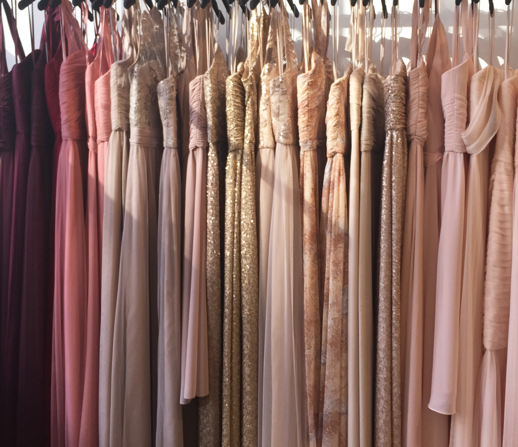 Mix N Match - Why just pick one colour for your Bridesmaids?