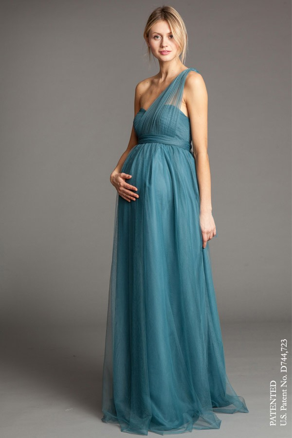 Serafina - Luxe ChiffonShown in Vintage Teal