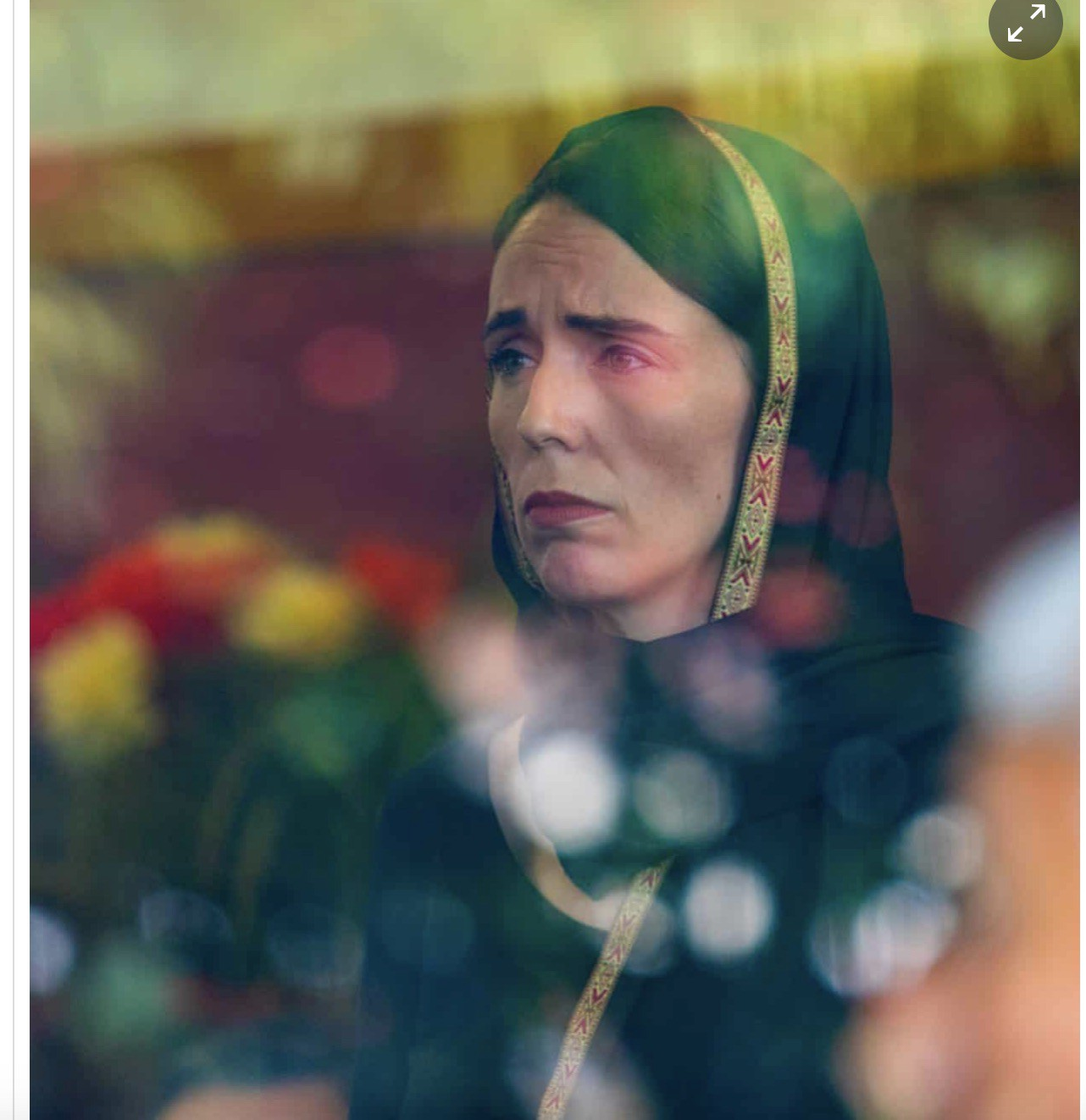 Prime Minister Jacinda Ardern, in the wake of the Christchurch massacre, photographed by Kirk Hargreaves