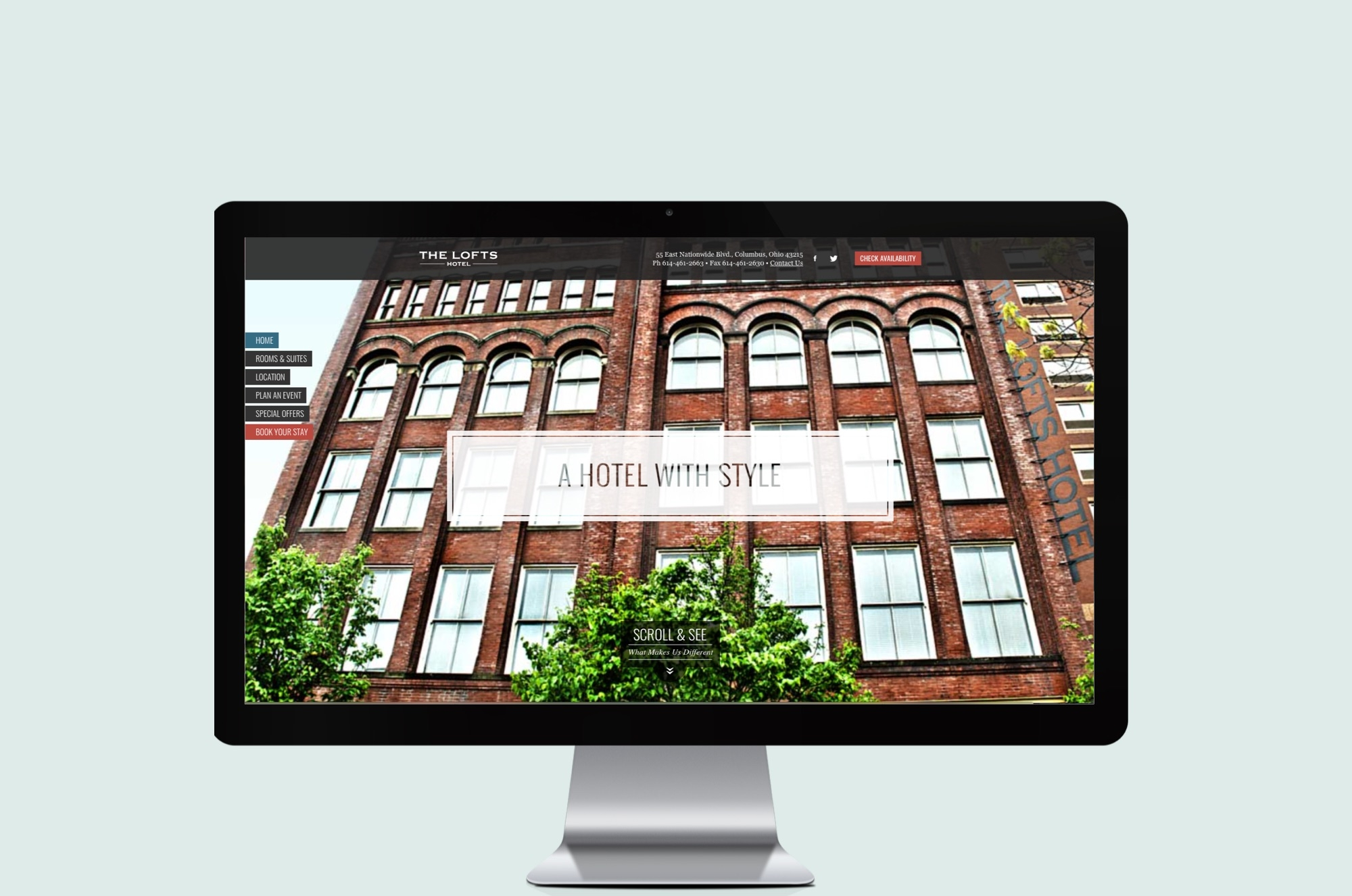 Jana Lee's Bake Shop Website Design