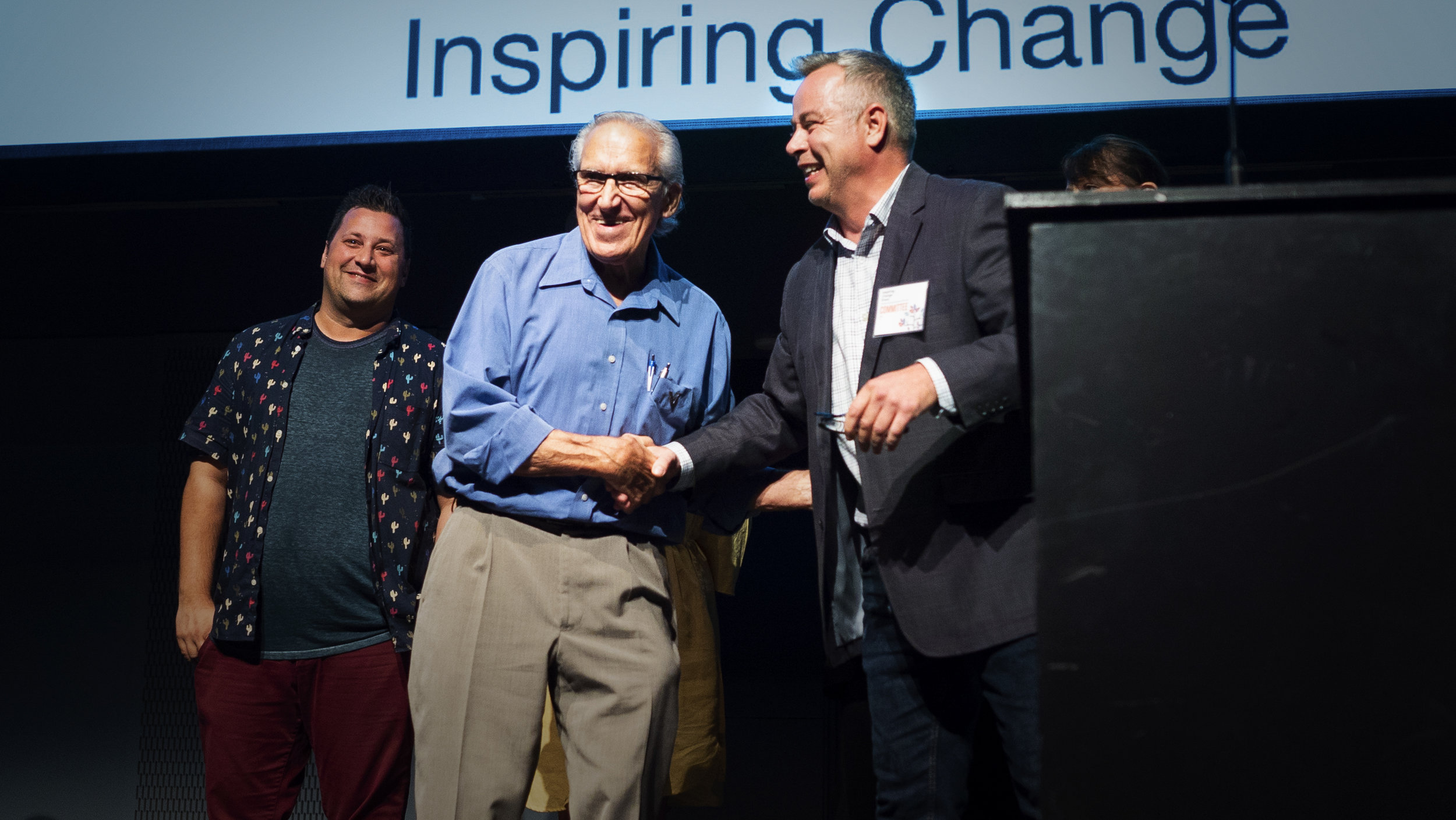 MARK SHAPIRO | RECIPIENT OF INSPIRING CHANGE AWARD