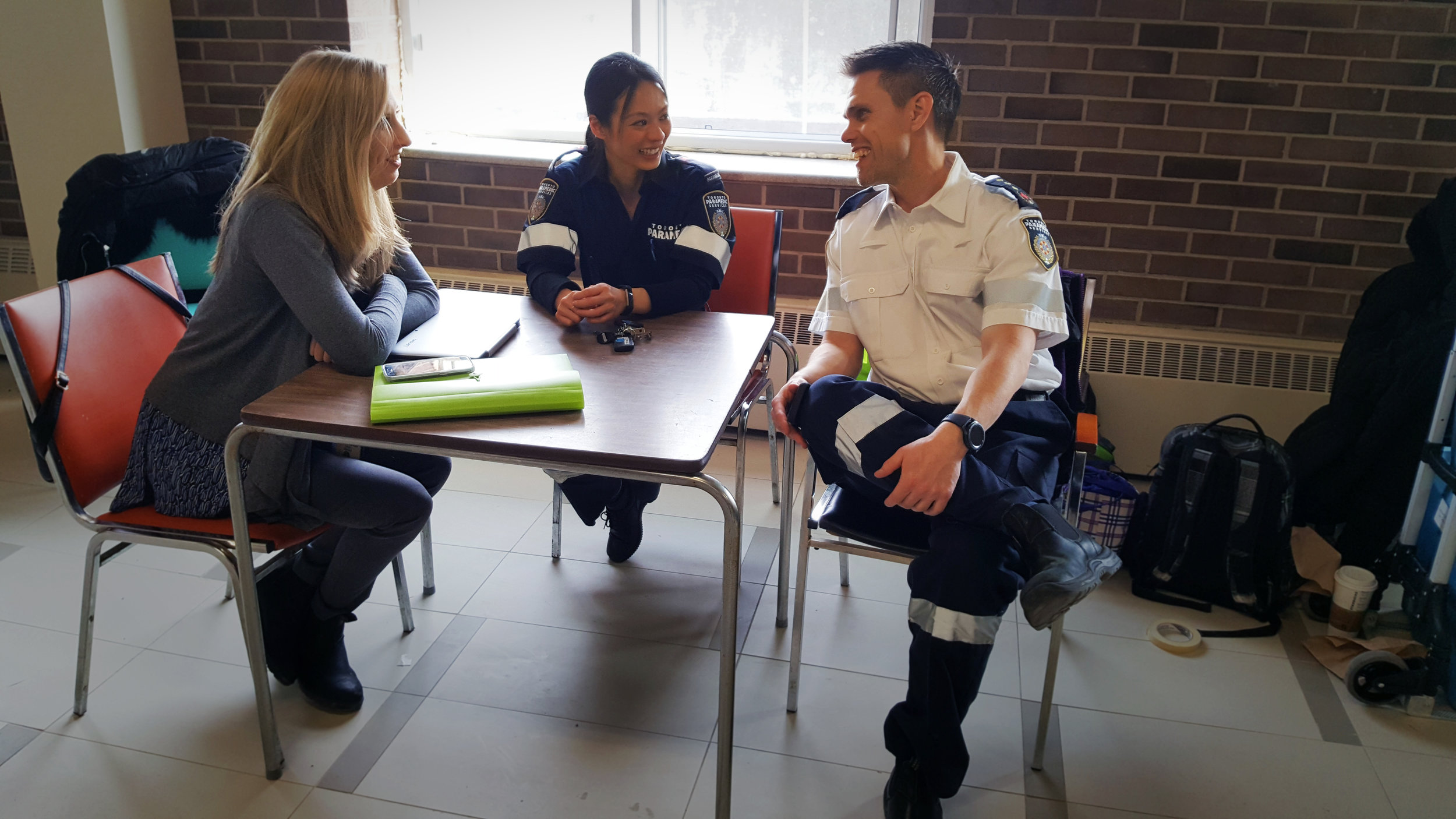 SARAH (GM MH CM, COTA) WITH JESSE AND MICHAEL (TPS)   CPLC