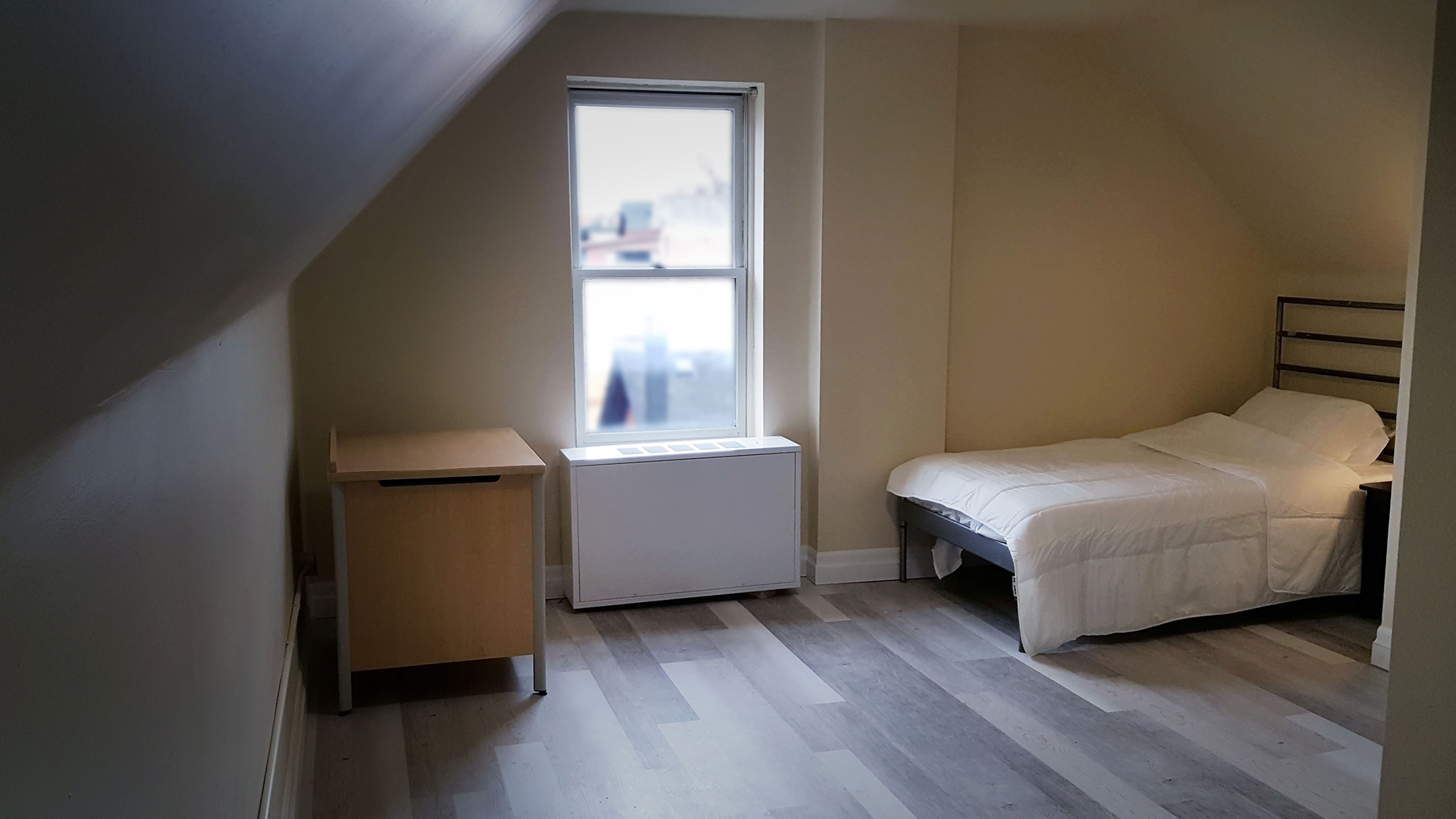 RENOVATED ROOM AT BAILEY HOUSE