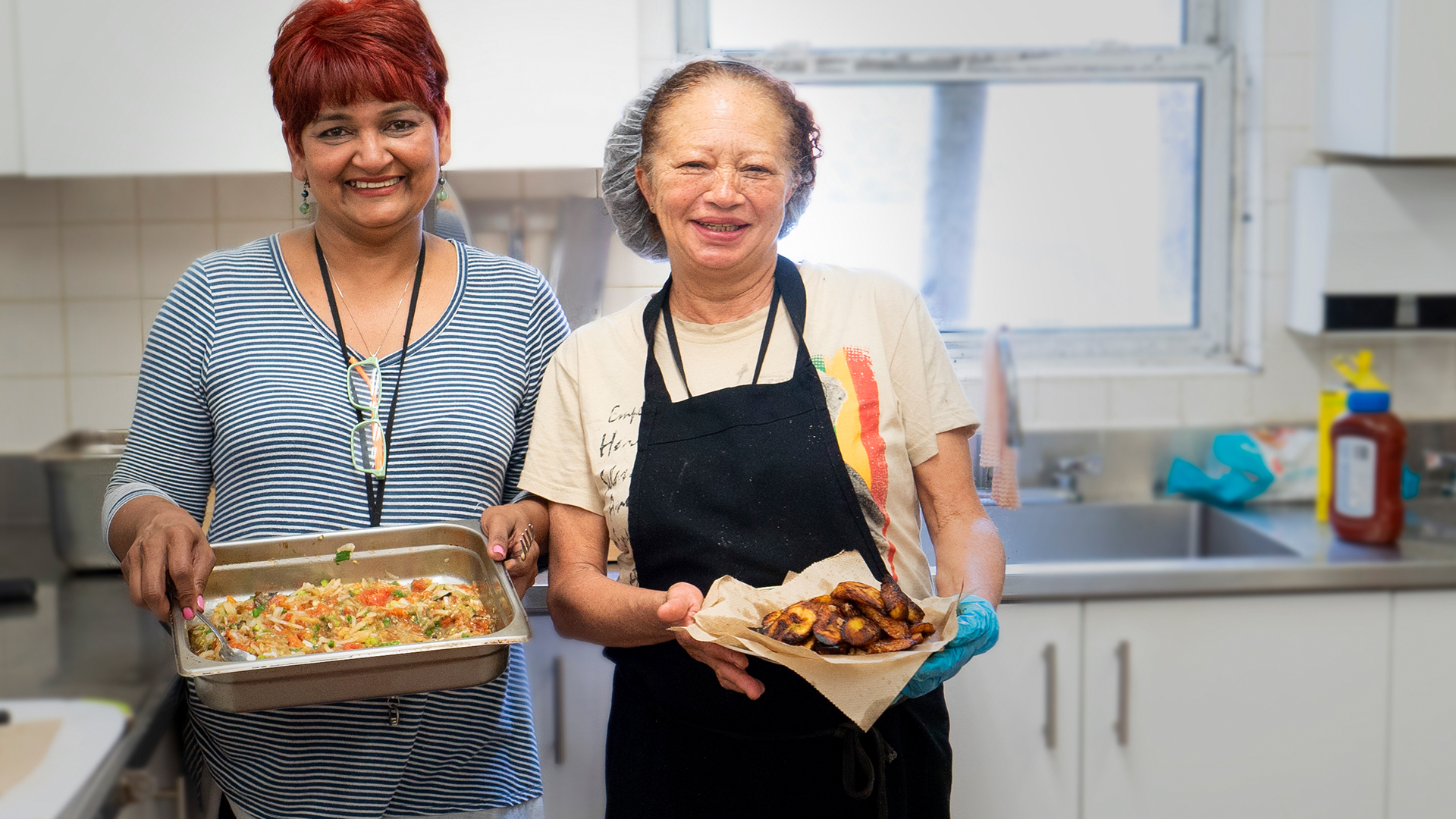 FOOD PROGRAM AT BAILEY HOUSE