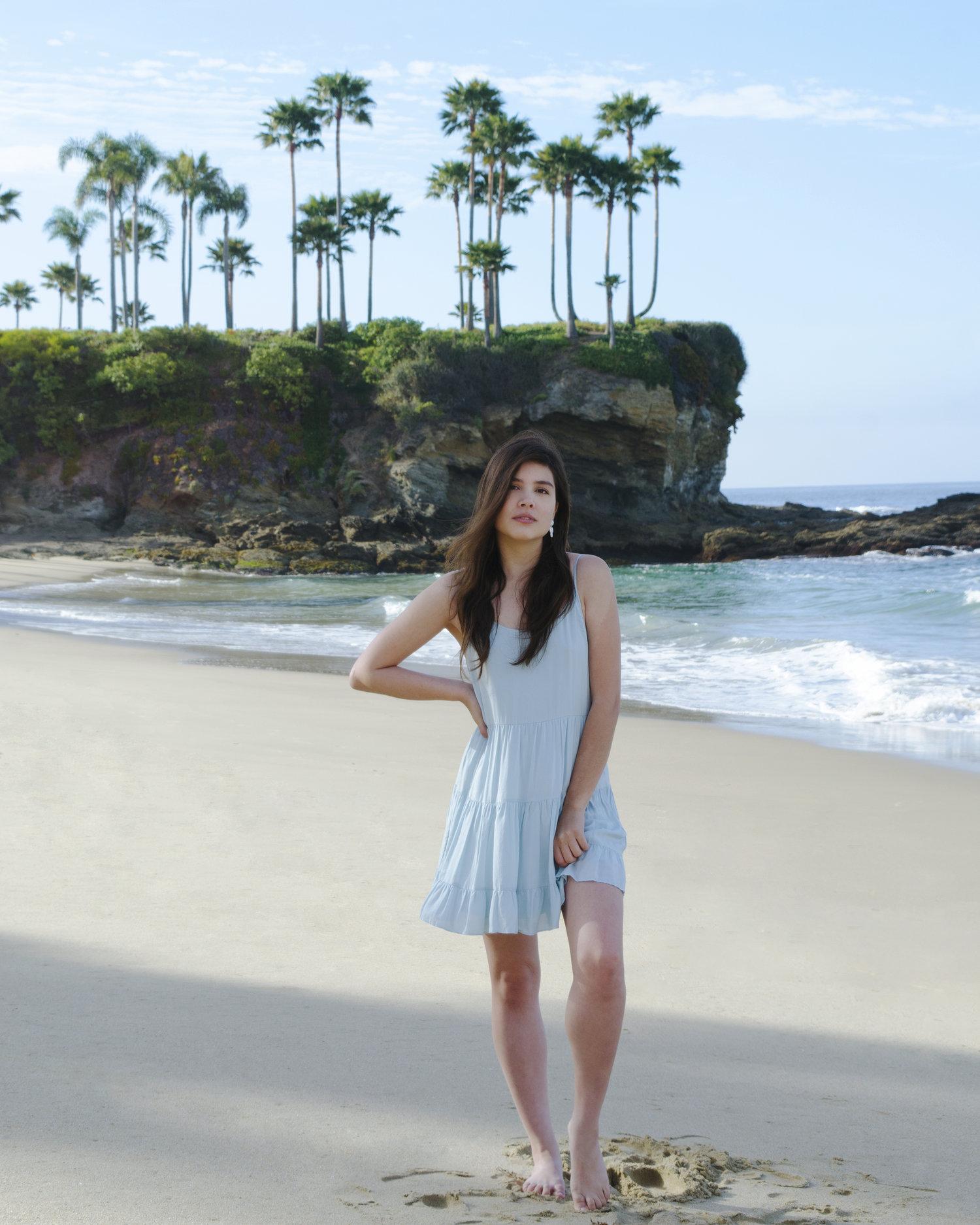 With Chelle Laguna Beach