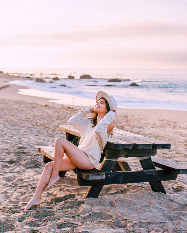 with chelle beach