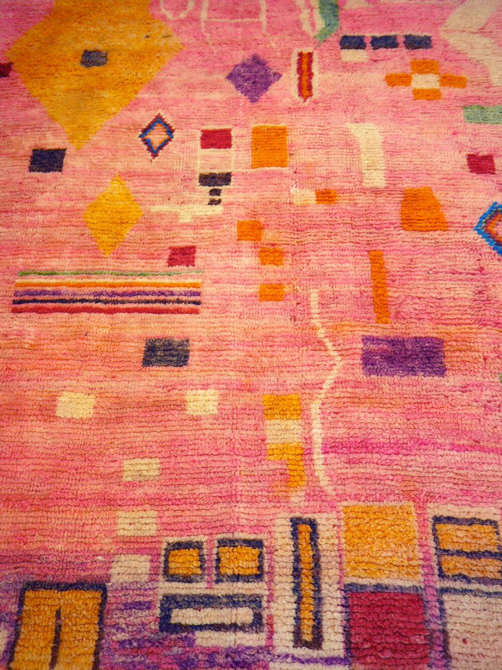 Moroccan Vintage Boujad Carpet
