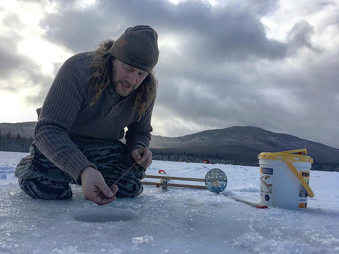 Whirling Wind Moon (Dec 22-Jan 24) - Ice-fishing, winter evergreen foraging, sewing hides