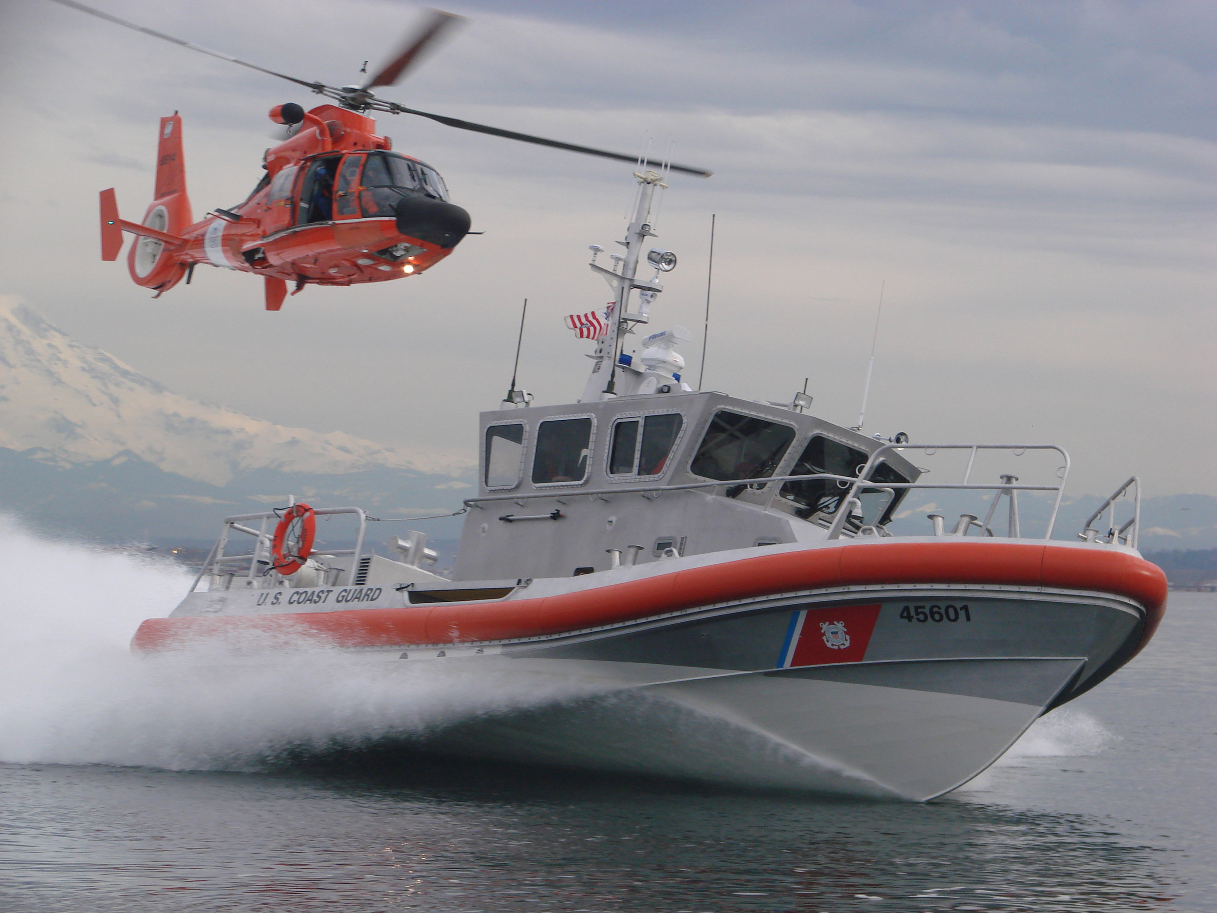 Puget Sound is home to the Thirteenth Coast Guard District, Coast Guard Sector Puget Sound and Air Station Port Angeles.  Puget Sound is also a Navy strategic port. The region also includes Fort Lewis and McChord AFB.