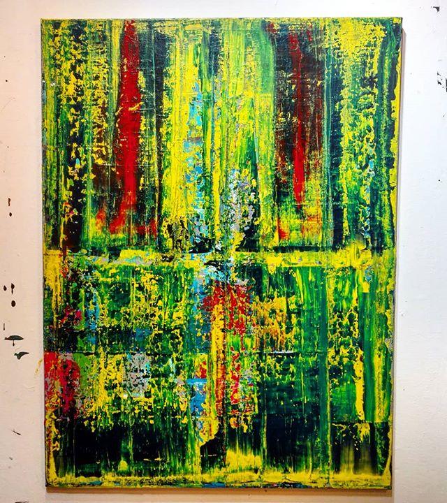 "Summer Dreams 30"" x 40""  Acrylic On Canvas For sale!  Free shipping!  #art #painting #acrylicpainting #abstractpainting #artshow #arttherapy #design #interiordesign #style #fashion #artistofinstagram #artofinstagram #visualart #artist #painter #stevesharonart #btv #vt #fineart #contemporaryart #abstractartist  #abstractpainter #color #modernart #instaart #outsiderart #instaart #beauty #create"