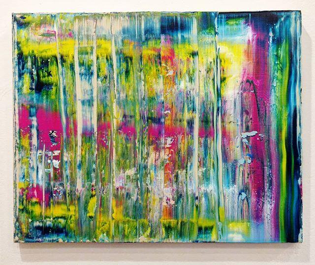 "Summer Station 20"" x 16""  Acrylic on Canvas For Sale! $85.00!  Free Shipping!  #art #painting #acrylicpainting #abstractpainting #artshow #arttherapy #design #interiordesign #style #fashion #artistofinstagram #artofinstagram #visualart #artist #painter #stevesharonart #btv #vt #contemporaryart #abstractartist  #abstractpainter #color #modernart #instaart #outsiderart #instaart #artfinder #artdealer #fineart"