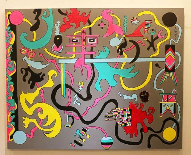 "Where Is My Mind  60"" x 48""  Acrylic On Canvas For Sale! Free Shipping!  #art #painting #acrylicpainting #abstractpainting #artshow #arttherapy #design #interiordesign #style #fashion #artistofinstagram #artofinstagram #visualart #artist #painter #stevesharonart #btv #vt #contemporaryart #abstractartist  #abstractpainter #color #modernart #instaart #outsiderart #instaart #artfinder #artdealer #abstractart"